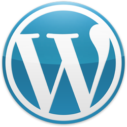 Wordpress Blue Logo