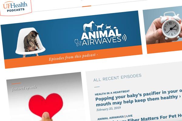 UF Health Podcasts screenshot
