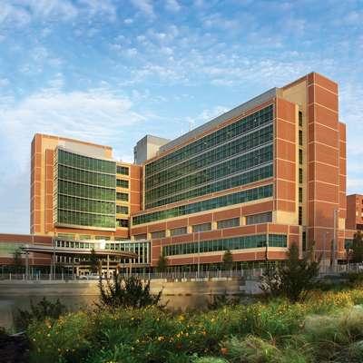 Photo of UF Health Gainesville campus